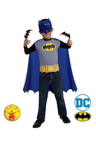 Batman Officially Licensed DC Comics Costume Accessory Kit - Buy Online with Afterpay, Paypal or Layby at Little Shop of Horrors Costumery - Costume Shop Melbourne