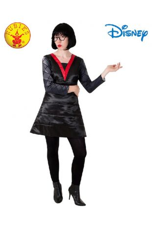 The Incredibles, Edna Mode Officially Licensed Disney Costume - Buy Online with Afterpay, Paypal or Layby at Little Shop of Horrors Costumery - Costume Shop Melbourne