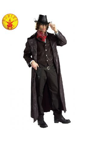 Gunslinger Cowboy Collectors Edition Costume available to buy with Afterpay, Paypal or Layby at Little Shop of Horrors Costumery - The best costume shop in Melbourne