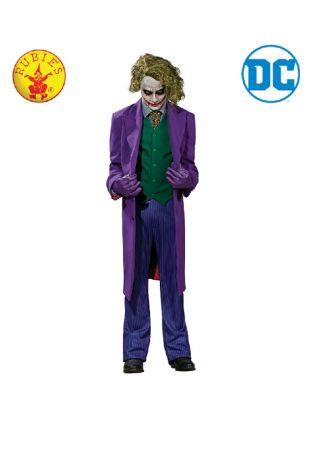 The Joker Collectors Edition Costume available to buy with Afterpay, Paypal or Layby at Little Shop of Horrors Costumery - The best costume shop in Melbourne