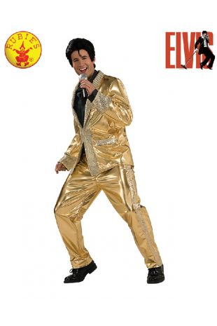 Elvis Collectors Edition Costume available to buy with Afterpay, Paypal or Layby at Little Shop of Horrors Costumery - The best costume shop in Melbourne