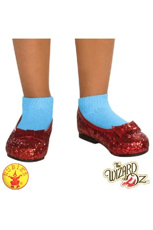 Wizard of Oz Ruby Slippers Officially Licensed Costume - Buy Online with Afterpay, Paypal or Layby at Little Shop of Horrors Costumery - Costume Shop Melbourne