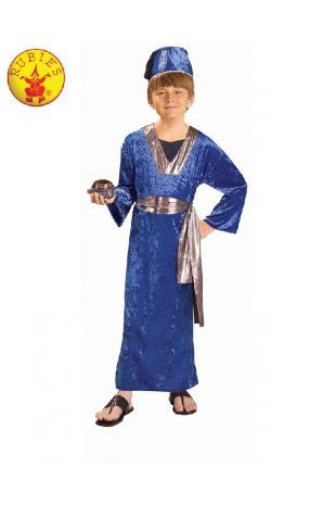 WISEMAN BLUE COSTUME, CHILD