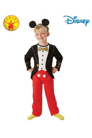 Mickey Mouse Officially Licensed Disney Costume - Buy Online with Afterpay, Paypal or Layby at Little Shop of Horrors Costumery - Costume Shop Melbourne
