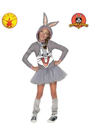 Bugs Bunny Costume, Officially Licensed Looney Tunes Costume, available to buy with Afterpay, Paypal or Layby at Little Shop of Horrors Costumery - The best costume shop in Melbourne
