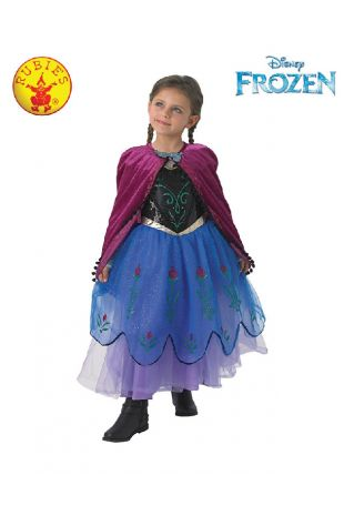 Anna Disney Princess Costume available to buy with Afterpay, Paypal or Layby at Little Shop of Horrors Costumery - The best costume shop in Melbourne