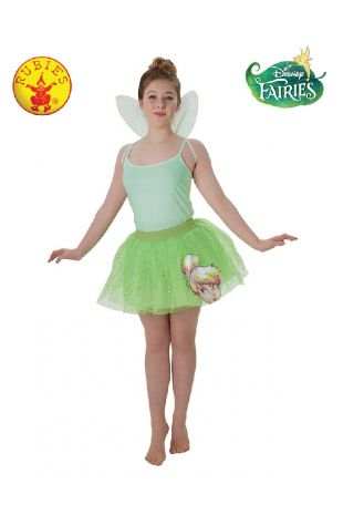 Tinkerbell Disney Princess Tween Costume available to buy with Afterpay, Paypal or Layby at Little Shop of Horrors Costumery - The best costume shop in Melbourne