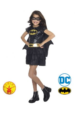 Batgirl Officially Licensed DC Comics Costume - Buy Online with Afterpay, Paypal or Layby at Little Shop of Horrors Costumery - Costume Shop Melbourne