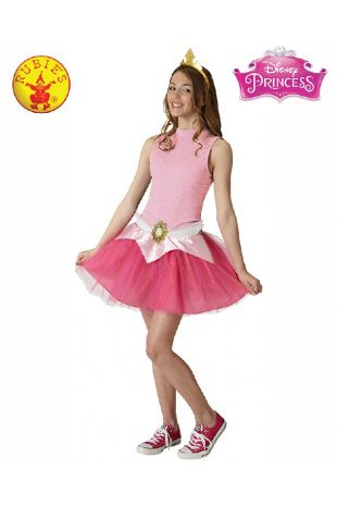 Sleeping Beauty Disney Princess Tween Costume available to buy with Afterpay, Paypal or Layby at Little Shop of Horrors Costumery - The best costume shop in Melbourne