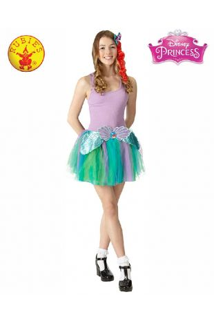 Ariel Disney Princess Tween Costume available to buy with Afterpay, Paypal or Layby at Little Shop of Horrors Costumery - The best costume shop in Melbourne