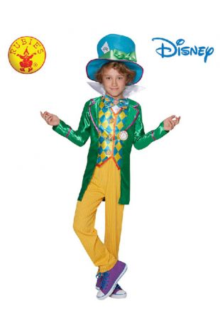 Mad Hatter from Alice in Wonderland Officially Licensed Disney Costume - Buy Online with Afterpay, Paypal or Layby at Little Shop of Horrors Costumery - Costume Shop Melbourne