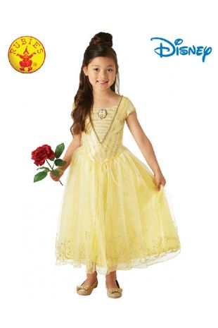 Belle Disney Princess Tween Costume available to buy with Afterpay, Paypal or Layby at Little Shop of Horrors Costumery - The best costume shop in Melbourne