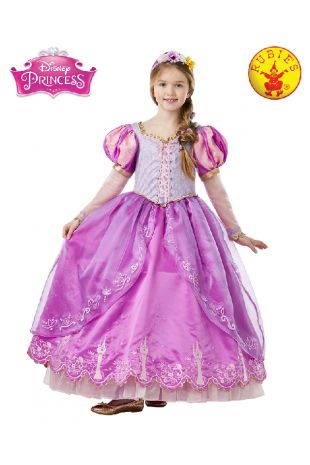 Rapunzel Disney Princess Costume available to buy with Afterpay, Paypal or Layby at Little Shop of Horrors Costumery - The best costume shop in Melbourne