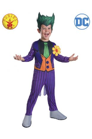 Joker Officially Licensed DC Comics Costume - Buy Online with Afterpay, Paypal or Layby at Little Shop of Horrors Costumery - Costume Shop Melbourne