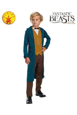 Newt Scamander Costume, Officially Licenced Fantastic Beasts Costume - Buy Online with Afterpay, Paypal or Layby at Little Shop of Horrors Costumery - Costume Shop Melbourne