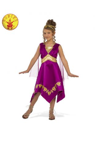 Girls Grecian Goddess Costume - Buy Online with Afterpay, Paypal or Layby at Little Shop of Horrors Costumery - Costume Shop Melbourne