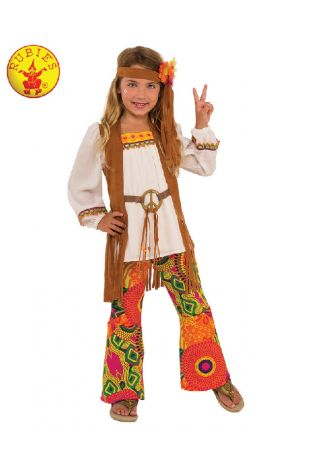 FLOWER CHILD COSTUME, CHILD