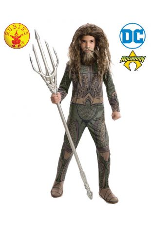 Aquaman, Justice League Officially Licensed DC Comics Costume - Buy Online with Afterpay, Paypal or Layby at Little Shop of Horrors Costumery - Costume Shop Melbourne