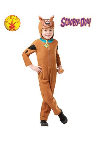 Scooby Doo Costume, Officially Licensed Scooby Doo Costume - Buy Online with Afterpay, Paypal or Layby at Little Shop of Horrors Costumery - Costume Shop Melbourne