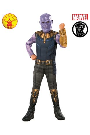 Thanos Avengers Infinity War Costume available to buy with Afterpay, Paypal or Layby at Little Shop of Horrors Costumery - The best costume shop in Melbourne