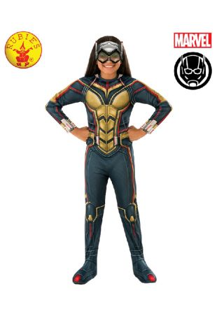 The Wasp Antman Costume available to buy with Afterpay, Paypal or Layby at Little Shop of Horrors Costumery - The best costume shop in Melbourne