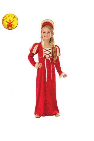 MEDIEVAL PRINCESS COSTUME, CHILD
