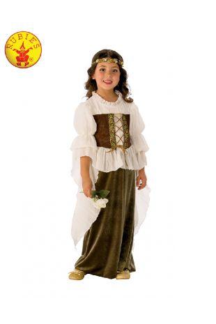 WOODLAND GIRL COSTUME, CHILD