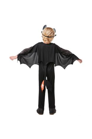 TOOTHLESS NIGHT FURY DELUXE COSTUME, CHILD