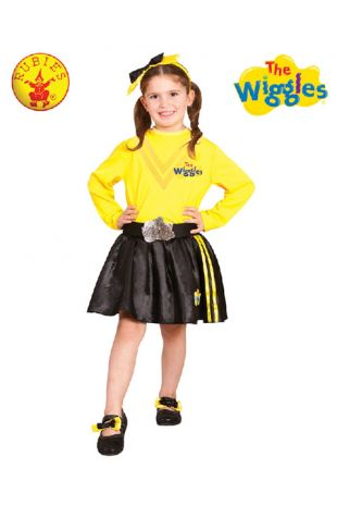 Emma Wiggle Costume, Officially Licensed Wiggles Costume - Buy Online with Afterpay, Paypal or Layby at Little Shop of Horrors Costumery - Costume Shop Melbourne