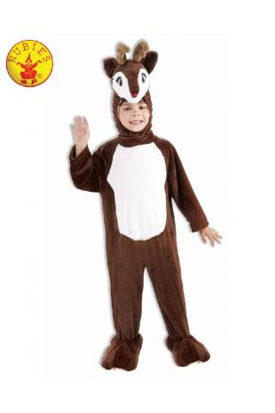 REINDEER PLUSH MASCOT COSTUME, CHILD