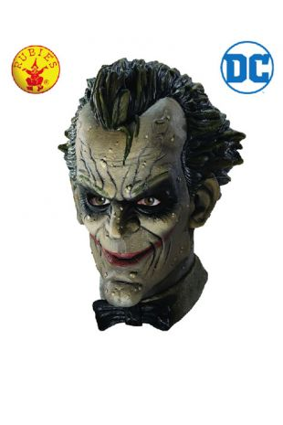 The Joker Officially Licensed DC Comics Mask - Buy Online with Afterpay, Paypal or Layby at Little Shop of Horrors Costumery - Costume Shop Melbourne