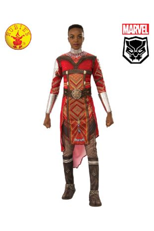 Black Panther Dora Milaje Costume available to buy with Afterpay, Paypal or Layby at Little Shop of Horrors Costumery - The best costume shop in Melbourne