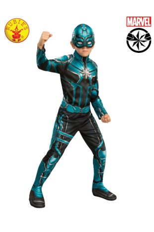 YON ROGG CLASSIC CAPTAIN MARVEL COSTUME, CHILD