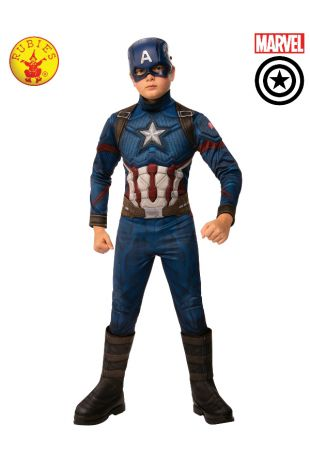 CAPTAIN AMERICA DELUXE COSTUME, CHILD