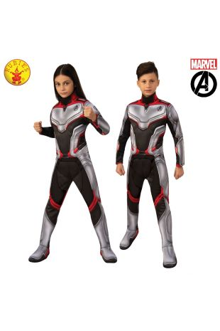 AVENGERS 4 DELUXE UNISEX TEAM SUIT, CHILD