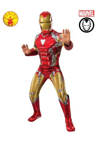 IRON MAN DELUXE COSTUME, ADULT