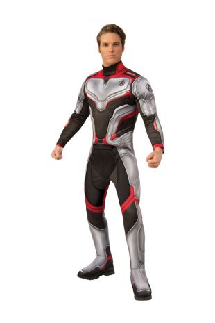 AVENGERS 4 DELUXE TEAM SUIT COSTUME, ADULT