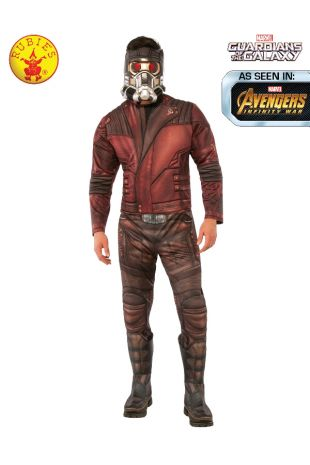 STAR-LORD DELUXE COSTUME, ADULT