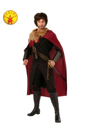 MEDIEVAL KING COSTUME, ADULT