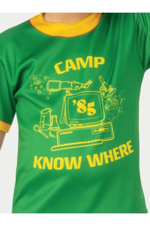 DUSTIN CAMP KNOW WHERE STRANGER THINGS T-SHIRT, CHILD