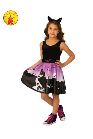 HAUNTED HOUSE GIRL COSTUME, CHILD