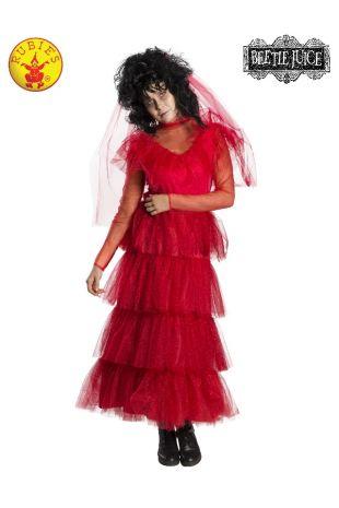 LYDIA DEETZ WEDDING DRESS COSTUME, ADULT