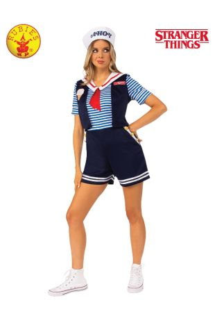 ROBIN SCOOPS AHOY COSTUME - STRANGER THINGS, ADULT