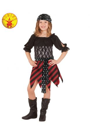 Pirate Tween Costume - Buy Online with Afterpay, Paypal or Layby at Little Shop of Horrors Costumery - Costume Shop Melbourne
