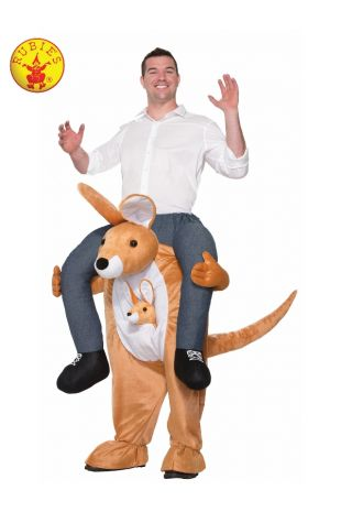 KANGAROO PIGGY BACK COSTUME, ADULT