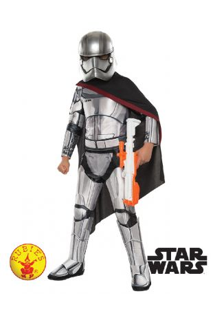 Captain Phasma Star Wars Officially Licensed Costume - Buy Online with Afterpay, Paypal or Layby at Little Shop of Horrors Costumery - Costume Shop Melbourne