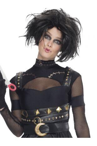 EDWARD SCISSORHANDS FEMALE COSTUME, ADULT