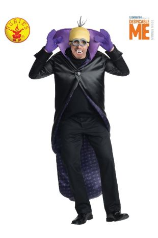 MINION DRACULA COSTUME, ADULT