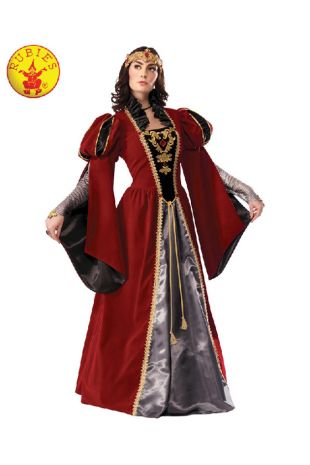 Queen Anne Collectors Edition Costume available to buy with Afterpay, Paypal or Layby at Little Shop of Horrors Costumery - The best costume shop in Melbourne