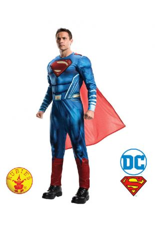 Superman, Justice League Officially Licensed DC Comics Costume - Buy Online with Afterpay, Paypal or Layby at Little Shop of Horrors Costumery - Costume Shop Melbourne